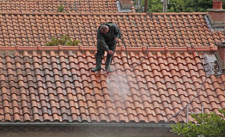 Nettoyage de toiture Médoc